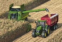 AMS: Moissonneuse-batteuse John Deere