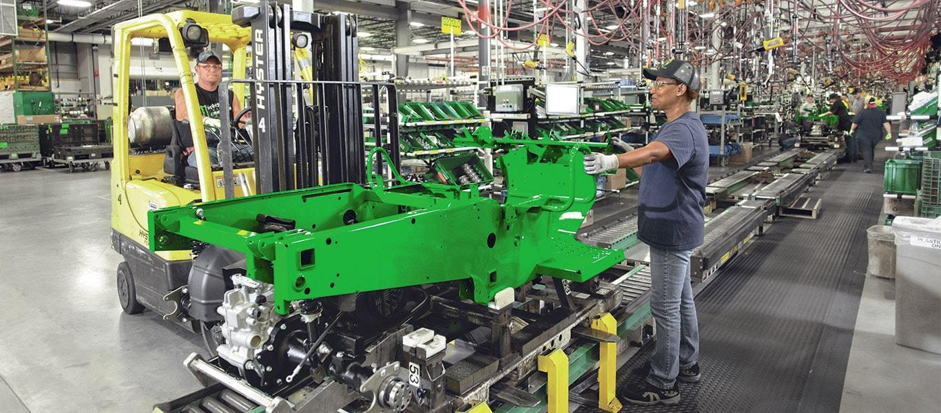 Gator, usine, opérateur