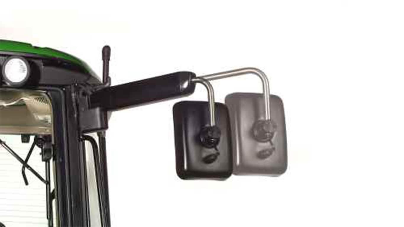 Rétroviseurs télescopiques extérieurs