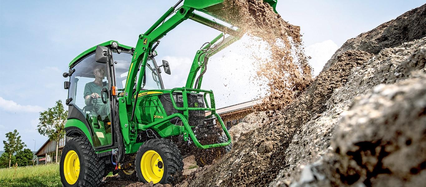Série2, 2026R, tracteurs utilitaires compacts
