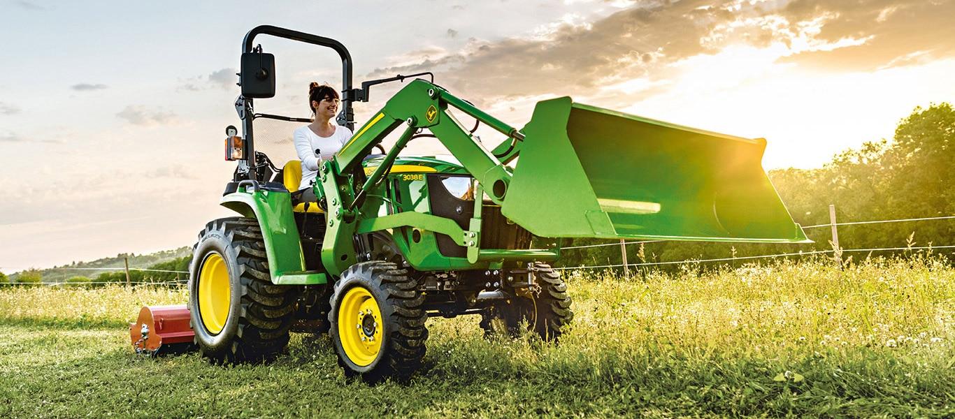 Série3, tracteurs utilitaires compacts