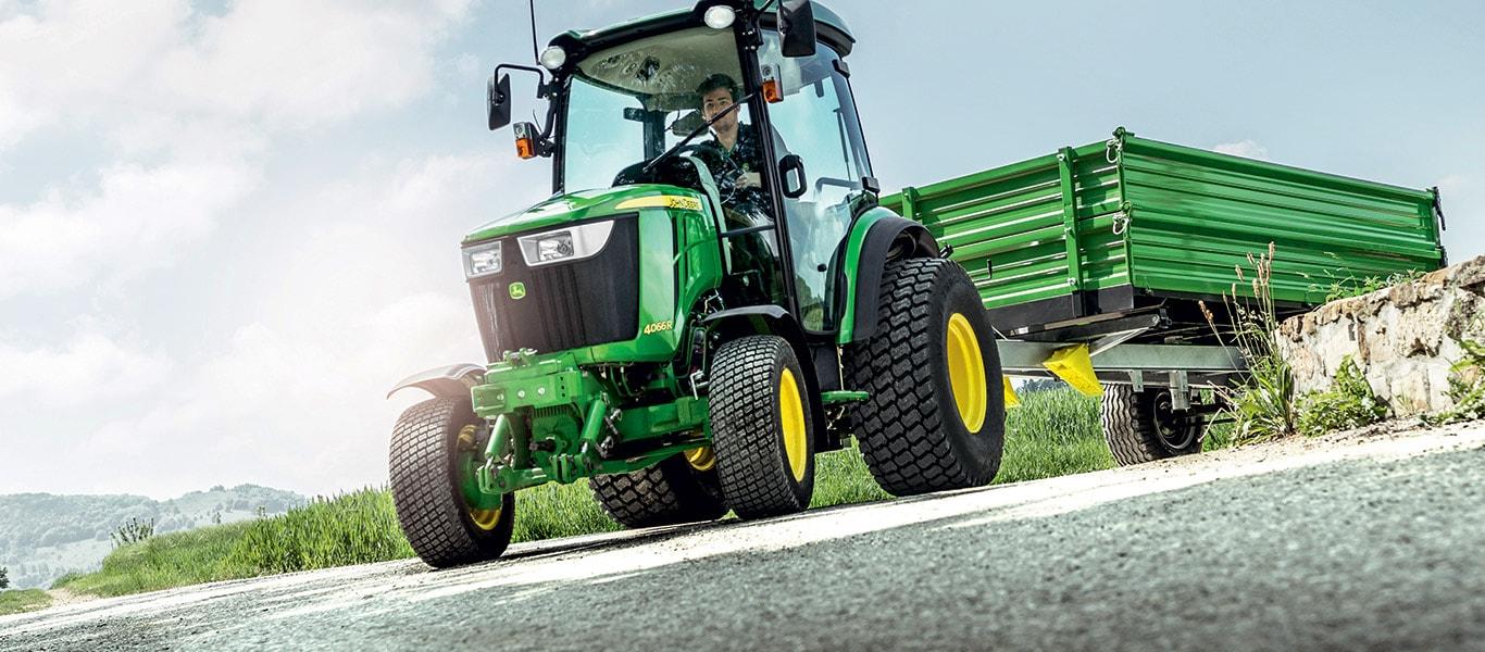 Série4, tracteurs utilitaires compacts