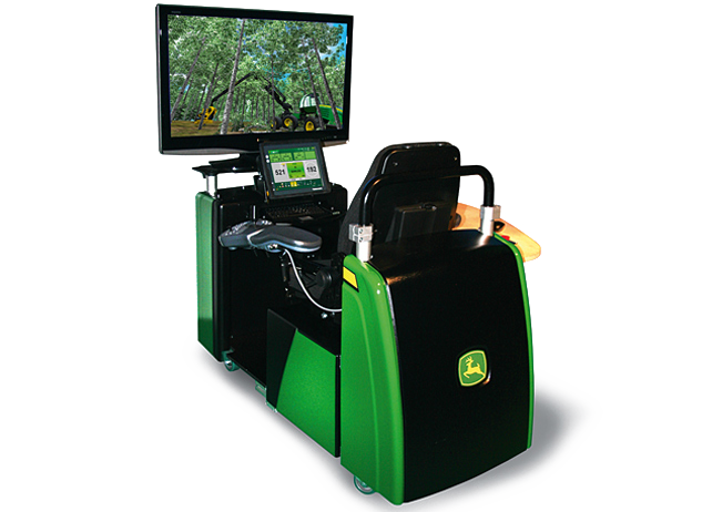 Harvester- and Forwarder Simulator