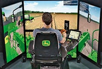 Simulateur de moissonneuse-batteuse GoHarvest Premium